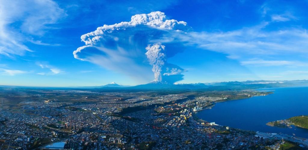 Calbuco Volcano (Cesar Santana) - Skypixel