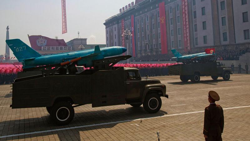 David Guttenfelder. Desfile militar en Corea del Norte. AP.