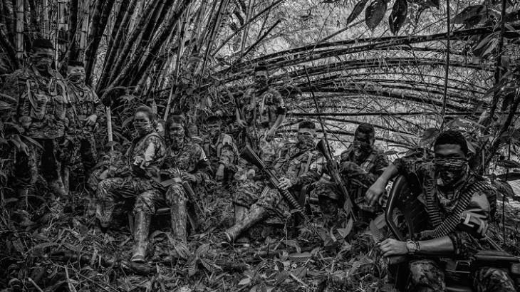 Juan Arredondo. Niños soldados de Colombia. Getty Images.