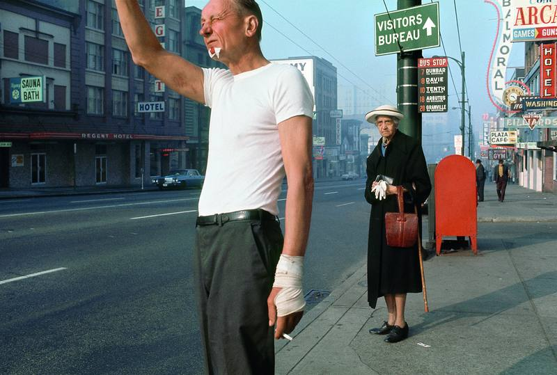 'Man with Bandage', Fred Herzog (1968)