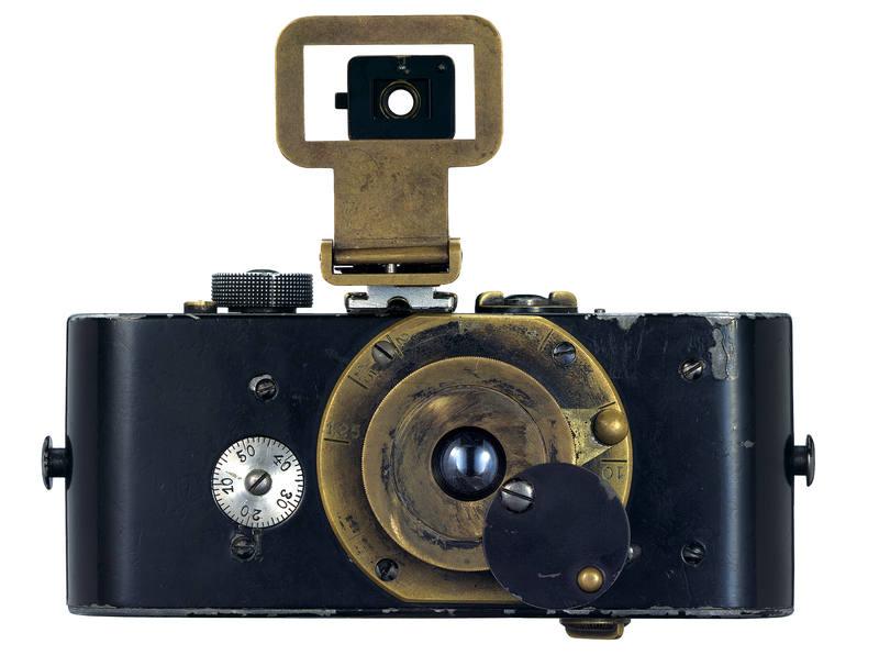 Modelo Ur Leica construida por Oskar Barnack en 1914